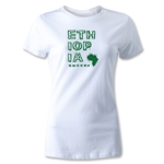 Ethiopia Women's Country T-Shirt (White)