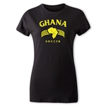 Ghana Women's Country T-Shirt (Black)