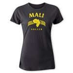 Mali Women's Country T-Shirt (Dark Gray)