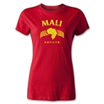 Mali Women's Country T-Shirt (Red)