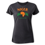 Niger Women's Country T-Shirt (Dark Gray)