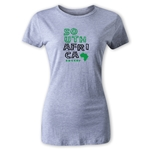 South Africa Women's Country T-Shirt (Gray)