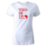 Tunisia Women's Country T-Shirt (White)