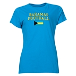 Bahamas Women's Football T-Shirt (Turquoise)