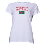 Bangladesh Women's Football T-Shirt (White)