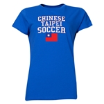 Chinese Taipei Women's Soccer T-Shirt (Royal)