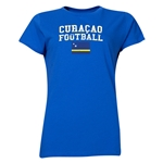 Curacao Women's Football T-Shirt (Royal)