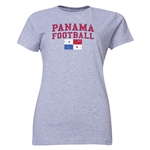 Panama Women's Football T-Shirt (Grey)