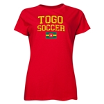 Togo Women's Soccer T-Shirt (Red)