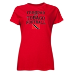 Trinidad & Tobago Women's Football T-Shirt (Red)
