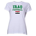 Iraq Women's Football T-Shirt (White)