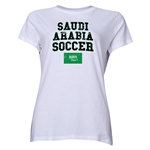 Saudi Arabia Women's Soccer T-Shirt (White)
