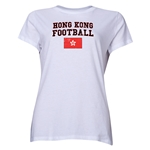 Hong Kong Women's Football T-Shirt (White)