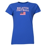 Malaysia Women's Football T-Shirt (Royal)