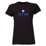 Dayton Dutch Lions Soccer Women's T-Shirt (Black)