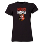 Stade Rennais FC We Are Women's T-Shirt (Black)