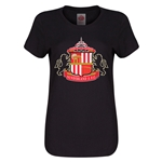Sunderland Core Women's T-Shirt (Black)