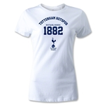 Tottenham Established Women's T-Shirt (White)