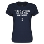 Tottenham One and Only Women's T-Shirt (Navy)