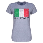 Italy Euro 2016 Core Womens T-Shirt (Grey)