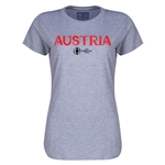 Austria Euro 2016 Core Womens T-Shirt (Grey)
