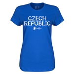 Czech Republic Euro 2016 Core Womens T-Shirt (Royal)