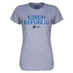 Czech Republic Euro 2016 Core Womens T-Shirt (Grey)