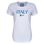 Italy Euro 2016 Core Womens T-Shirt (White)