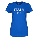 Italy Euro 2016 Core Womens T-Shirt (Royal)