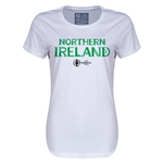Northern Ireland Euro 2016 Core Womens T-Shirt (White)
