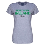 Northern Ireland Euro 2016 Core Womens T-Shirt (Grey)