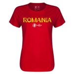 Romania Euro 2016 Core Womens T-Shirt (Red)