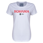 Romania Euro 2016 Core Womens T-Shirt (White)