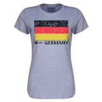 Germany Euro 2016 Core Womens T-Shirt (Grey)