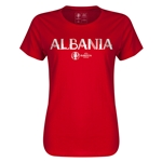 Albania Euro 2016 Core Womens T-Shirt (Red)
