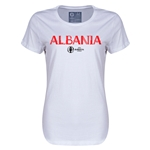 Albania Euro 2016 Core Womens T-Shirt (White)