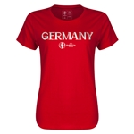 Germany Euro 2016 Core Womens T-Shirt (Red)