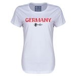 Germany Euro 2016 Core Womens T-Shirt (White)