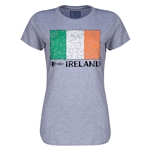Ireland Euro 2016 Core Womens T-Shirt (Grey)