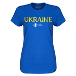 Ukraine Euro 2016 Core Womens T-Shirt (Royal)