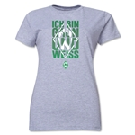 Werder Bremen I Am Green and White Women's T-Shirt (Gray)