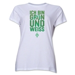 Werder Bremen I Am Green and White Women's T-Shirt (White)