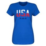 USA WWC Champions Women's T-Shirt (Royal)