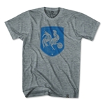 Ultras France Rooster Shield T-Shirt (Gray)