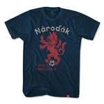 Czech Republic Narodak Lion T-Shirt (Navy)