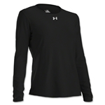 Under Armour Women's Locker Long Sleeve T-Shirt (Black)