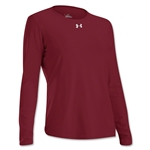Under Armour Women's Locker Long Sleeve T-Shirt (Cardinal)