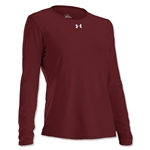 Under Armour Women's Locker Long Sleeve T-Shirt (Maroon)