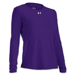 Under Armour Women's Locker Long Sleeve T-Shirt (Purple)