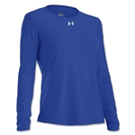 Under Armour Women's Locker Long Sleeve T-Shirt (Royal Blue)